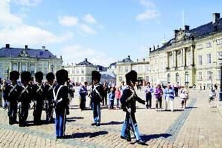 Amalienborg, where the Danish royal family reside. Photo: Thinkstock