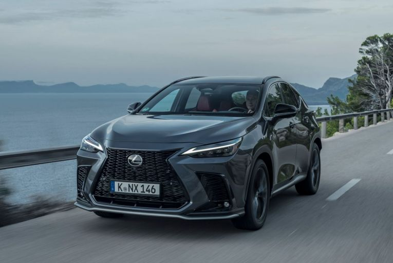 The new Lexus NX 450h+: prices start at €50,950