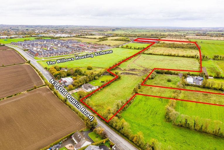 Tranche of zoned lands in Meath for sale by private treaty