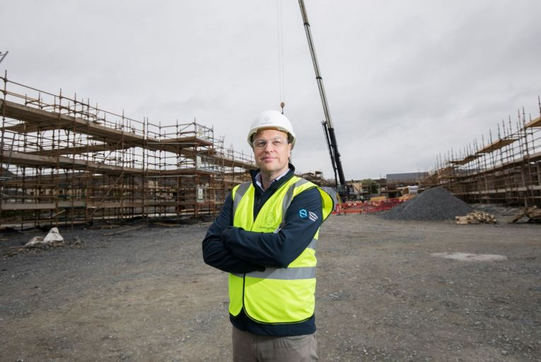 Stephen Garvey, chief executive of Glenveagh: 'Ireland needs to deliver 35,000 houses per year to keep pace with demand'
