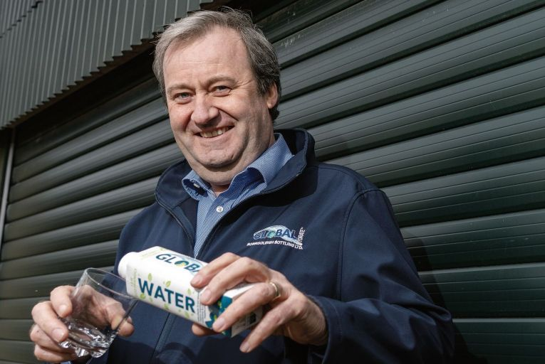 Making It Work: Sustainable packaging for mineral water is making a splash