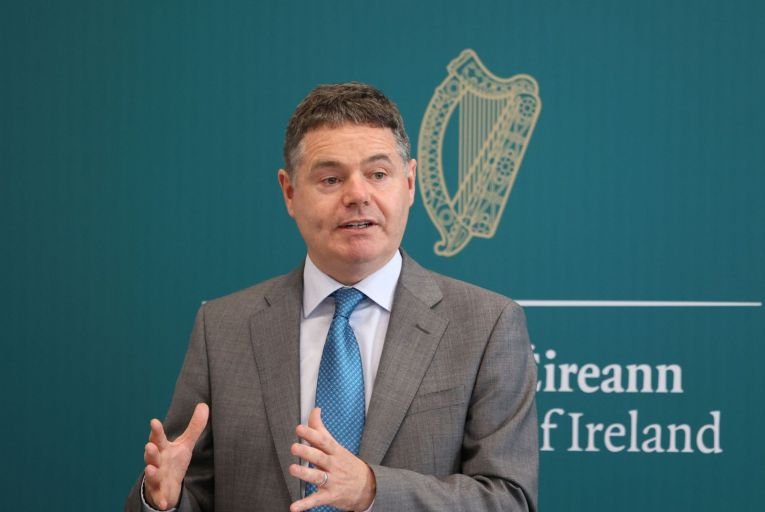 Paschal Donohoe, the Minister for Finance, said the main purpose of the legislation was to improve approve accountability in the financial sector. Picture: Rollingnews.ie