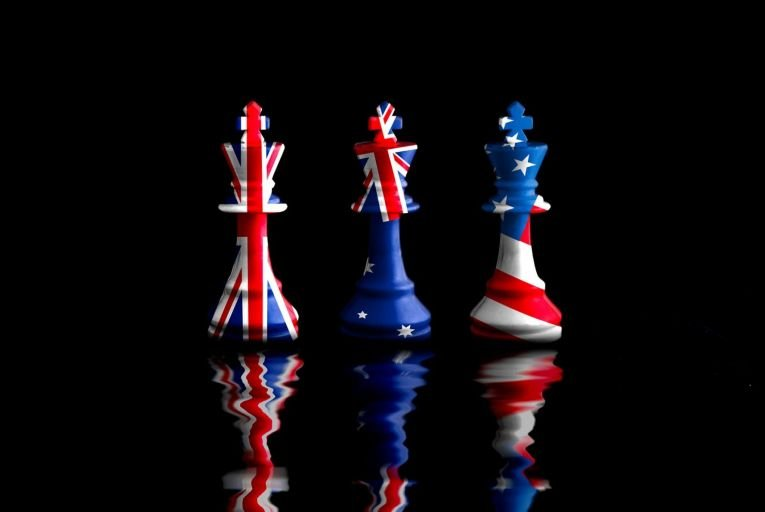 'The alliance binds Australia to the US and Britain – in other words to the West – for generations, perhaps at the expense of its Asian allies.' Picture: Getty
