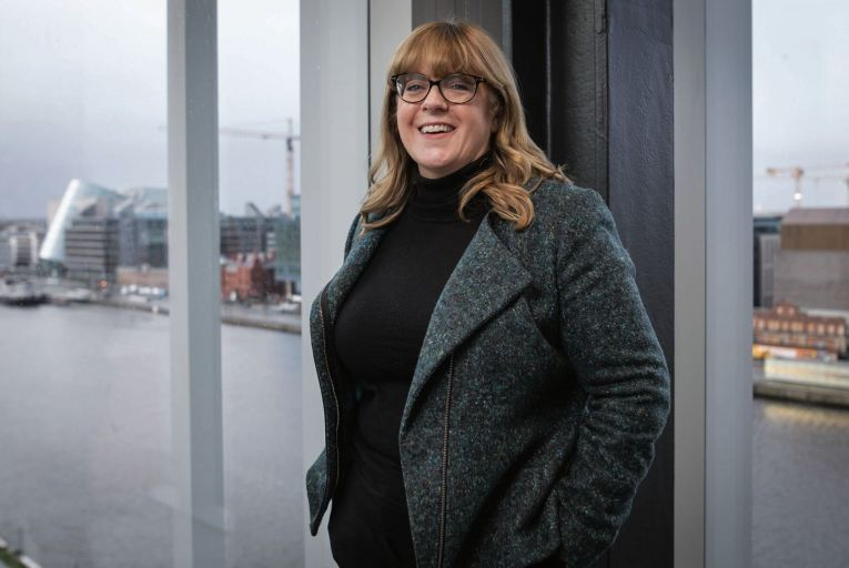 Carin Bryans, the senior country officer at JP Morgan Chase in Ireland, said setting up the new unit within the Dublin office was a natural progression from the firm's recent growth in Ireland. Photo: Fergal Philips