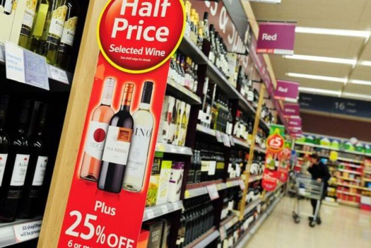 Figures shared by Drink Ireland, the lobby group, with Frank Feighan, the junior minister for public health, showed that the cost of some products will be twice as much in the Republic, raising concerns that shoppers will cross the border to buy cheaper alcohol and groceries.