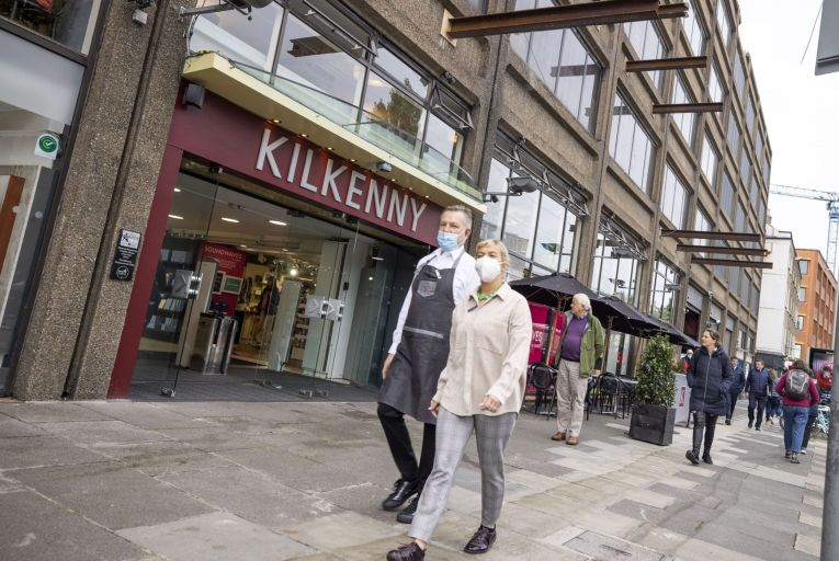 The owners of the Kilkenny shop have brought a case against Larry Goodman's Setanta Centre Unlimited. Picture: Fergal Phillips