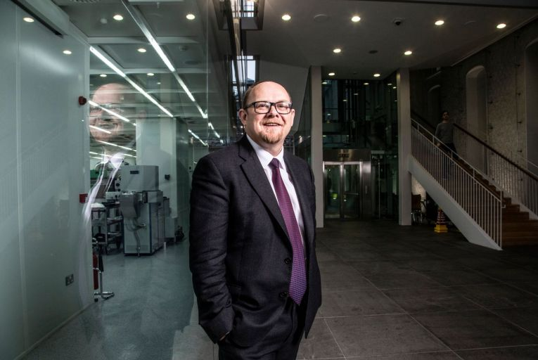 William Scanlon, chief executive at Tyndall National Institute: 'Since Tyndall was established, we haven't created a large number of start-ups but they're very sticky'