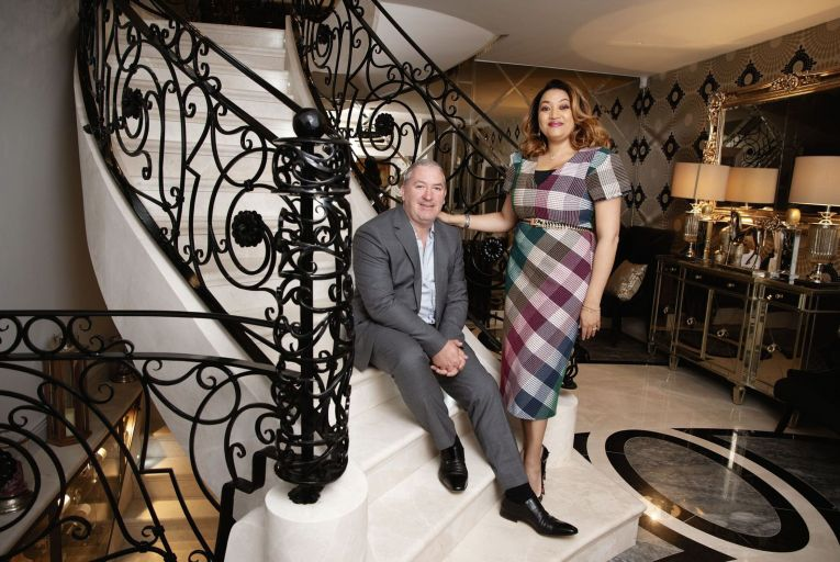 Valerie and Noel Moran: founders of PFS. Picture: Barry Cronin