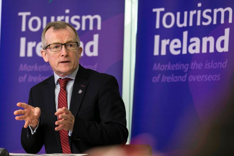 Niall Gibbons, chief executive of Tourism Ireland:  to market 'hassle-free' holidays to British visitors