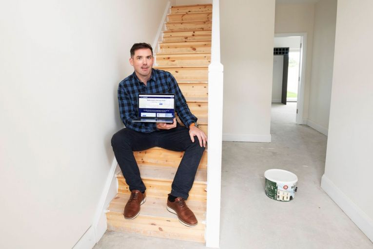 Eoghain Ryan, co-founder of Housebuild.ie: 'To date there's been a million euro invested in the company without us having to seek external funding'. Picture: Andrew Downes, Xposure