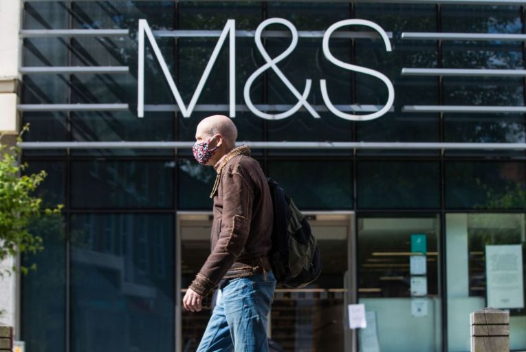M&S has begun sourcing Irish products, including turkeys and pork sausages, to ensure its shelves are stocked ahead of Christmas. Picture: Bloomberg