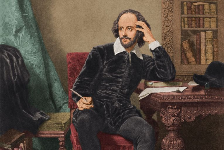 William Shakespeare: even the bard himself was at the mercy of his crowds. Picture: Getty