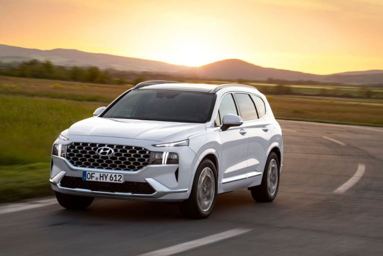 The Hyundai Santa Fe Plug-in Hybrid starts at €49,945 including SEAI grant. Picture: Ingo Barenschee
