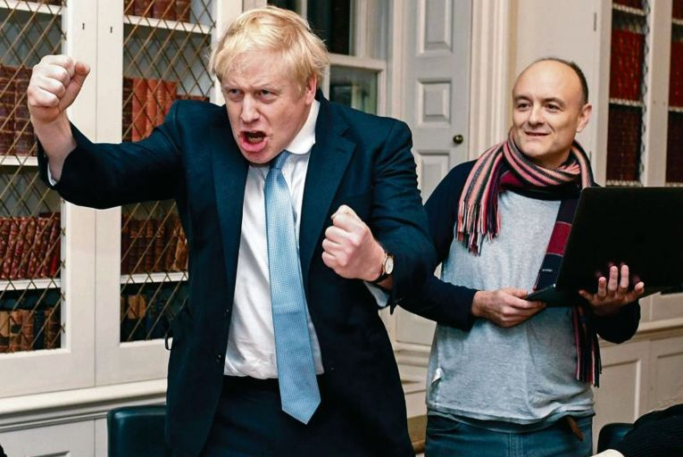 Boris Johnson may wish to present himself as a softer, more collaborative figure after Dominic Cummings' departure
