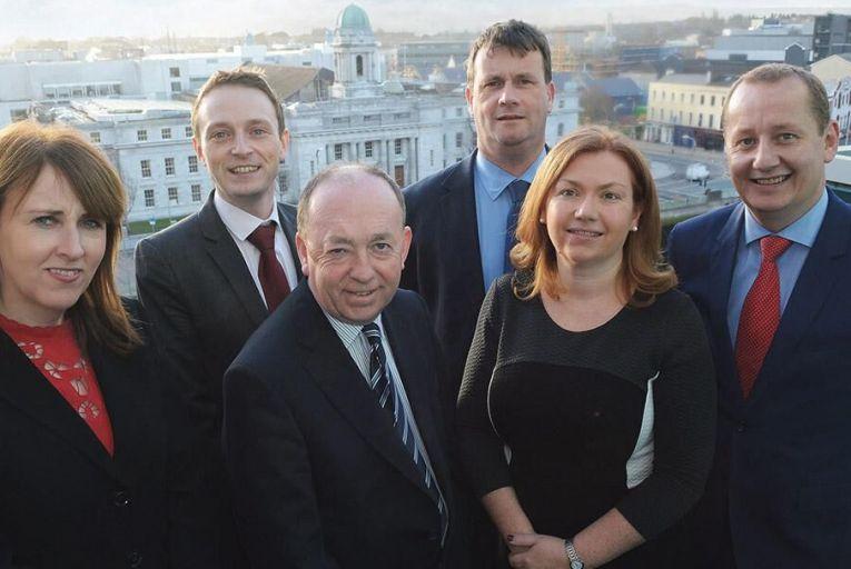 Deloitte Cork partners, from left: Eileen Healy, risk advisory; Kevin Butler, audit & assurance; John O'Flynn, tax; Michael Sheehan, tax; Honor Moore, audit & assurance; Ronan Murray, corporate finance