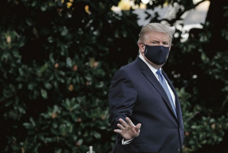 Campaign thrown in doubt as White House infections continue to rise