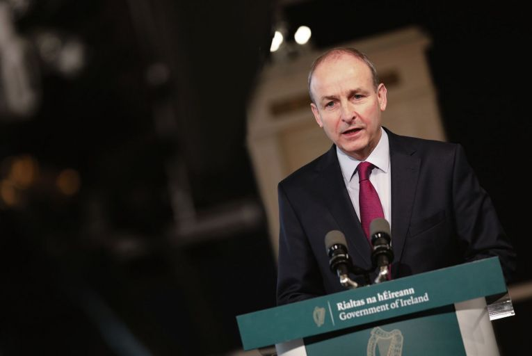 Taoiseach Micheál Martin may have his decision to travel to the White House taken out of his hands if the invite from US president Joe Biden doesn't come in the first place Picture: RollingNews
