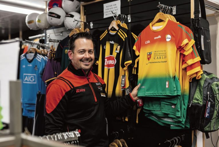 Colin Rea, grandson of the business's original founders, has been managing the shop since 2012. Rea's Department Store in Bagenalstown