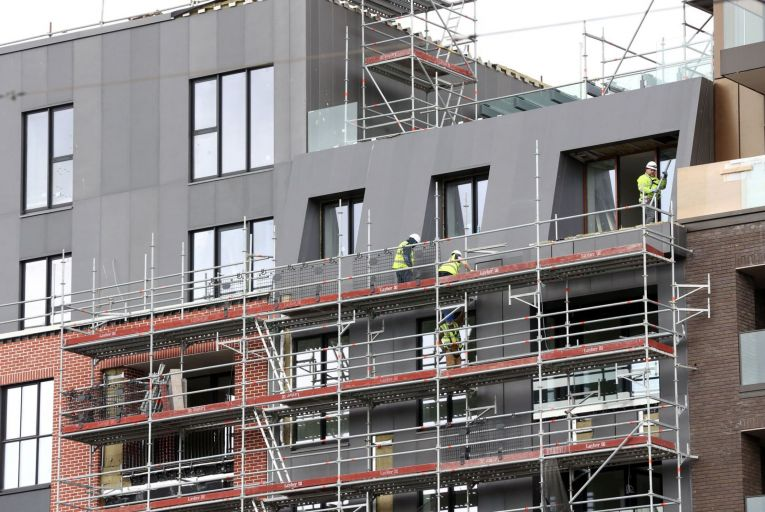 Apartment construction most heavily impacted by lockdown, Goodbody says