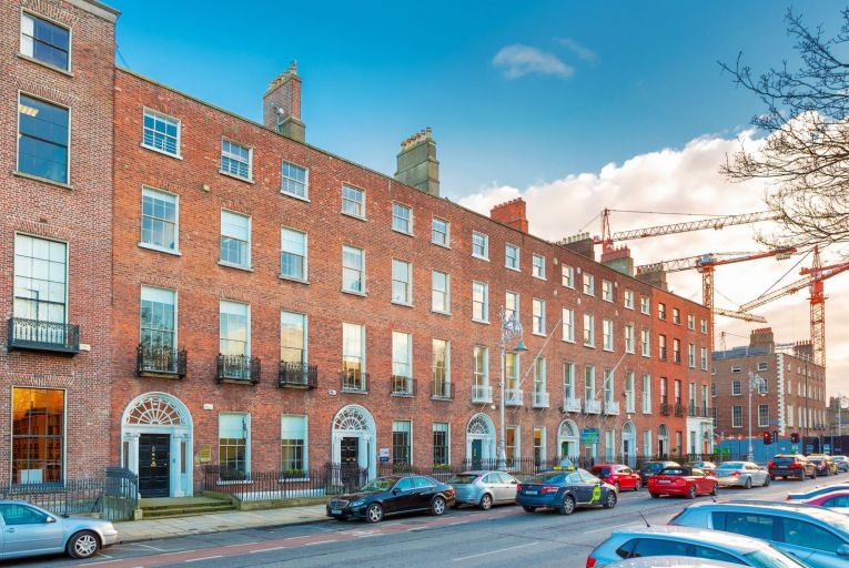Two Georgian gems with mews can be bought as a lot on Merrion Square