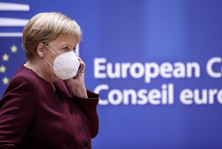 Angela Merkel, the German chancellor, led the compromise that allowed the European Commission to go directly to the markets for the first time to raise €750 billion for a  Covid-19 package
