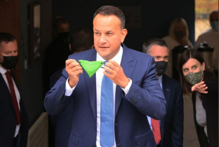 There was no confusion over government regulations for outdoor events, Varadkar claims