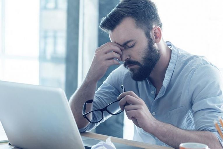 Don\'t let stress in the workplace take over your life Pic: iStock