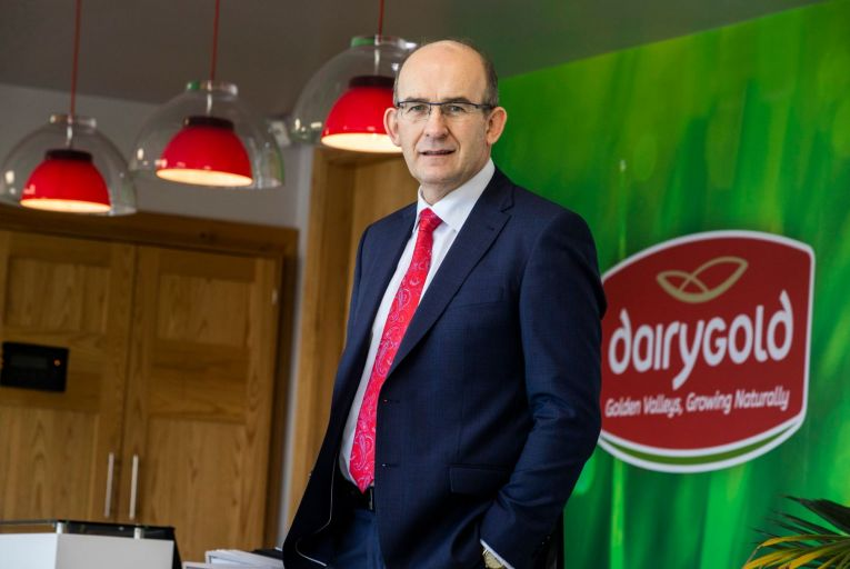 Jim Woulfe, Dairygold chief executive, announced his retirement from the Cork-based co-op this week. Picture: Clare Keogh