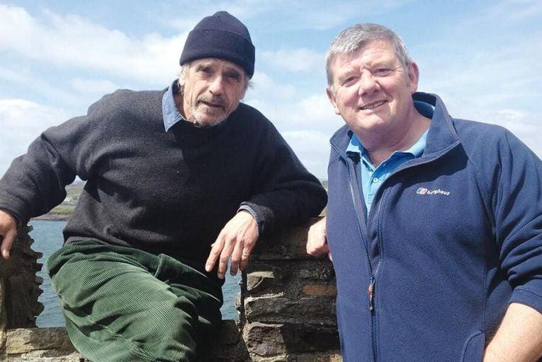 Jeremy Irons and John Creedon on Creedon's Wild Atlantic Way