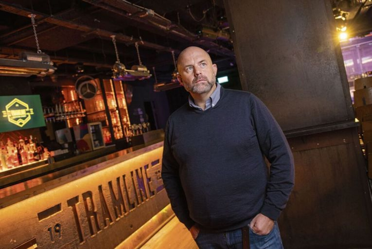 Ian Redmond, Owner of Tramline Nightclub: 'It's a nightmare. We will have been closed for 590 days. We just want to get back to work.' Picture: Fergal Phillips