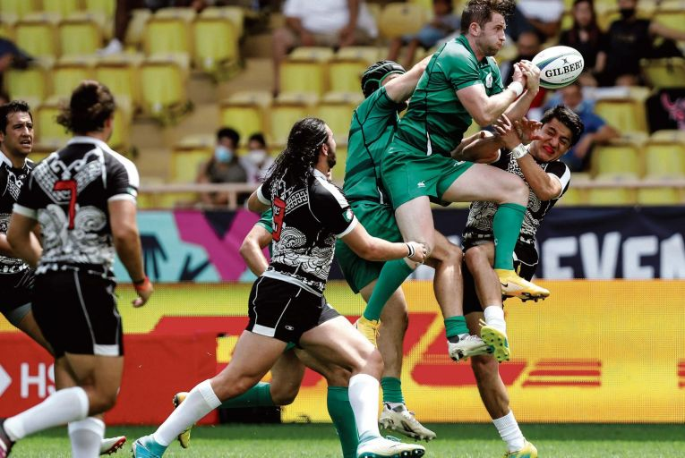 Ireland beat Mexico at the World Rugby Sevens Repechage qualifying event at the Stade Louis in Monaco last week. Picture: Inpho