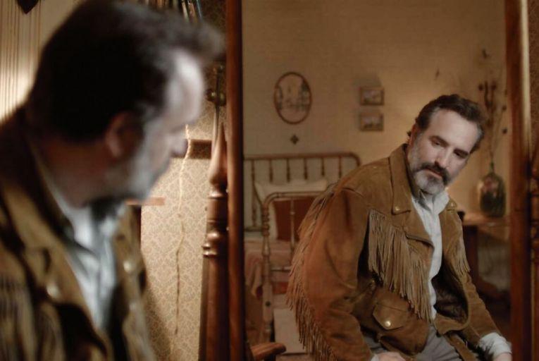 Jean Dujardin stars in the black comedy Deerskin