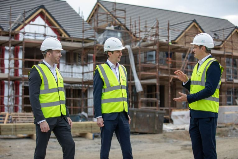 L-R: Michael Corbett, head of credit operations at Ardcairn Capital, Daire McCarthy, co-founder and chief executive at Ardcairn Capital along with Noel Ross, director & head of portfolio management.