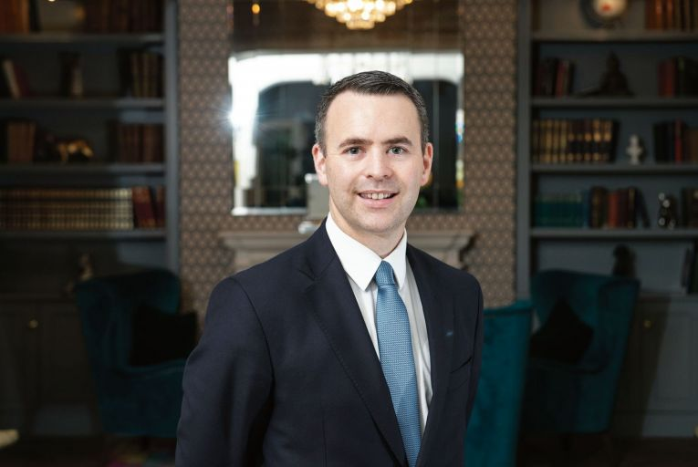 Brian Bowler, general manager, the Montenotte Hotel