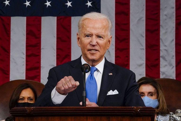 US president Joe Biden: unapologetically advancing a new left-of-centre economic agenda
