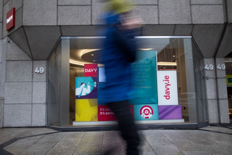 Davy Stockbrokers, Dawson Street: set to fetch around €500m, much more than previously thought. PIcture: Fergal Phillips