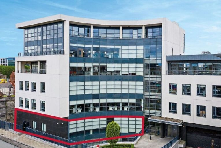 Office suite at Grand Canal Dock on sale for €1.95m