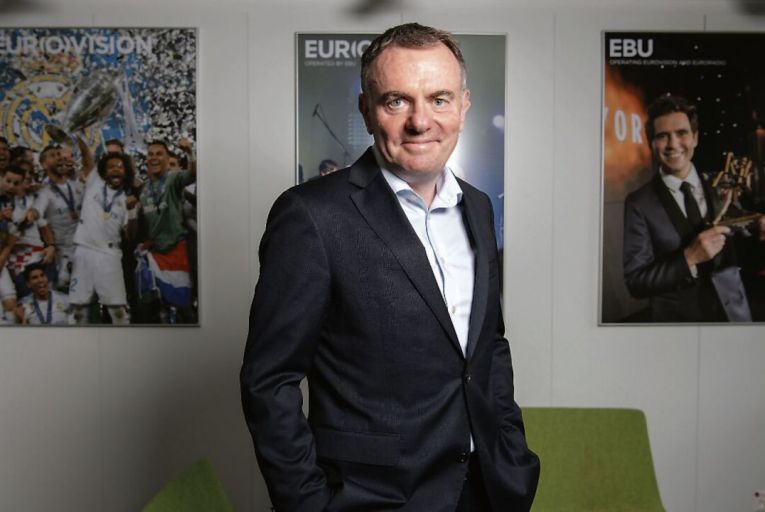 Noel Curran, director general of the European Broadcasting Union, which has submitted recommendations to the Commission on the Future of Media
