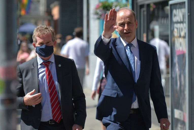 Taoiseach Micheál Martin: I don't expect Jim O'Callaghan and Barry Cowen will be lurking at the mouth of the Jack Lynch tunnel to ambush him anytime soon. Picture: NurPhoto/Getty