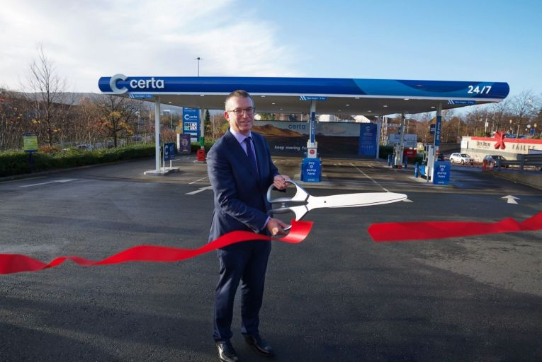 Andrew Graham, managing director of Certa, says there is room for a low-cost, low-price, back-to-basics model for petrol stations. Picture: Sean Brosnan