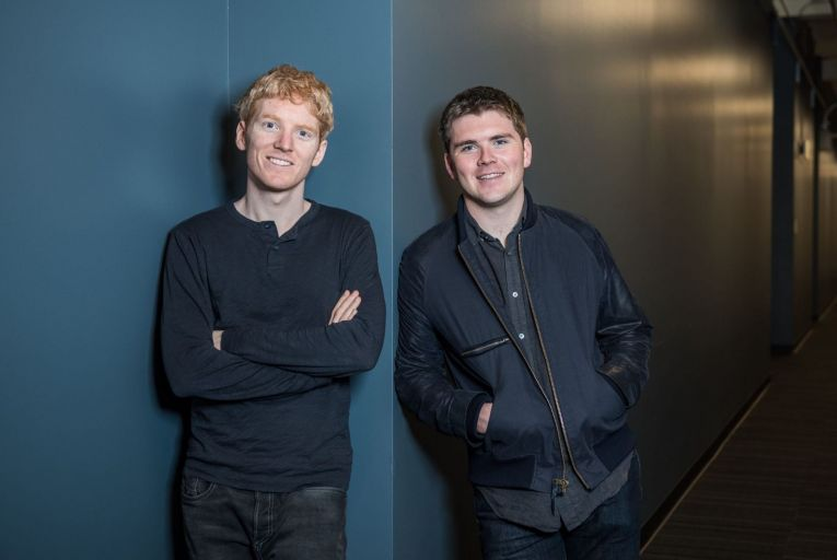 Brothers Patrick and John Collison of Stripe: The headquarters of their business has been in San Francisco since it was founded, but Europe is becoming increasingly important