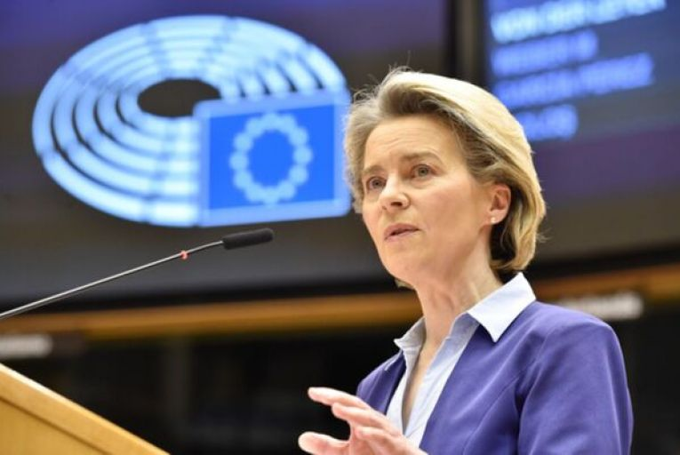 Ursula von der Leyen, the EU Commission Ppresident, announced that more vaccines need to be diverted to European countries. Picture: Rollingnews.ie