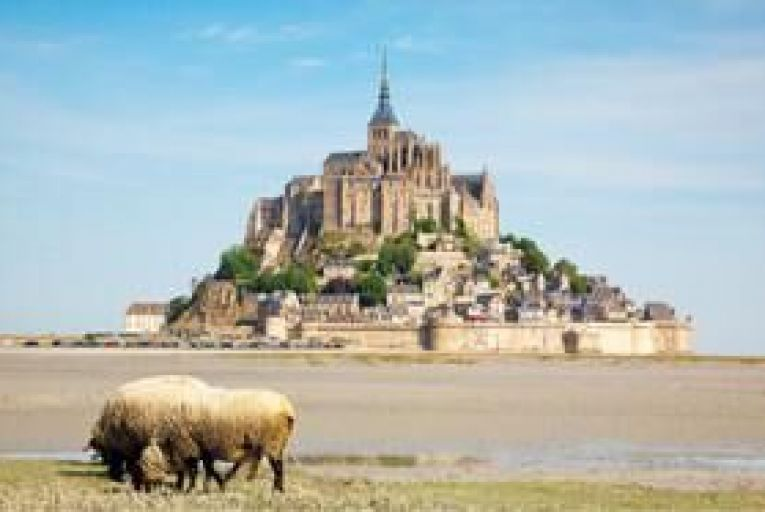 Mont Saint-Michel: the closer you get to it, the more you appreciate its scale and beauty.