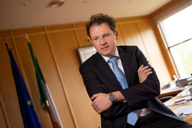Opposition TDs have called on Charlie McConalogue, the Agriculture Minister, to clarify why he was taking a judicial review to have a suspended sentence set aside. Picture: Fergal Phillips