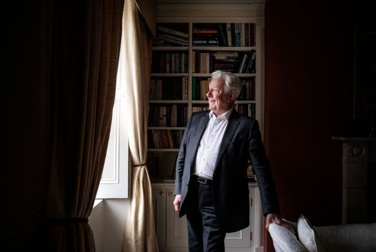 Stephen Vernon at home in Dublin City. The John Pollard Foundation, set up in 2017, allows him to invest in companies with the intention of using all the funds put in, and earned, for selected projects. Picture: Clare Keogh