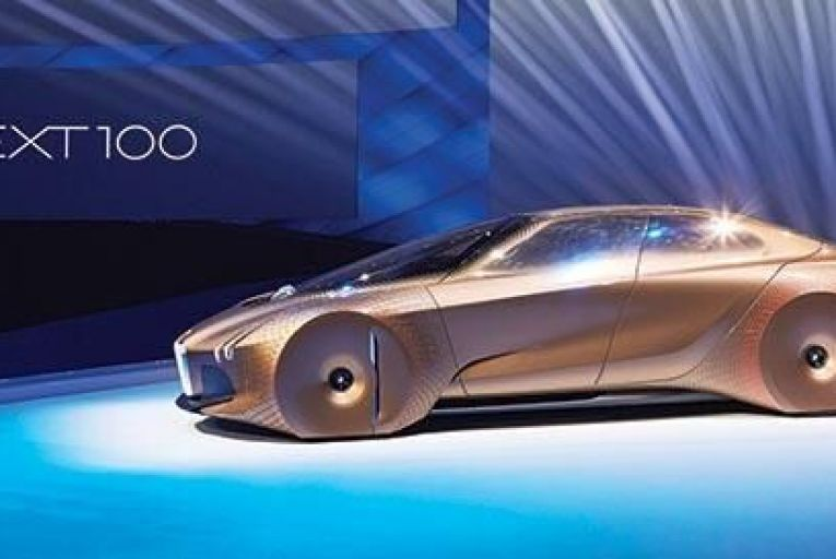 The BMW Vision Next 100 concept car – the car maker's vision for the distant future