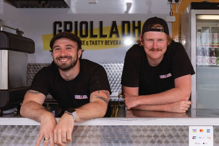 The Griolladh food truck serves up tasty toasties in Malahide, Dublin. Food trucks look set to continue to grow in popularity