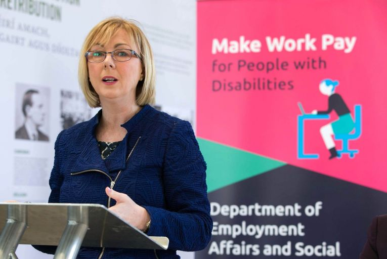 Employment Affairs & Social Protection Minister, Regina Doherty T.D.