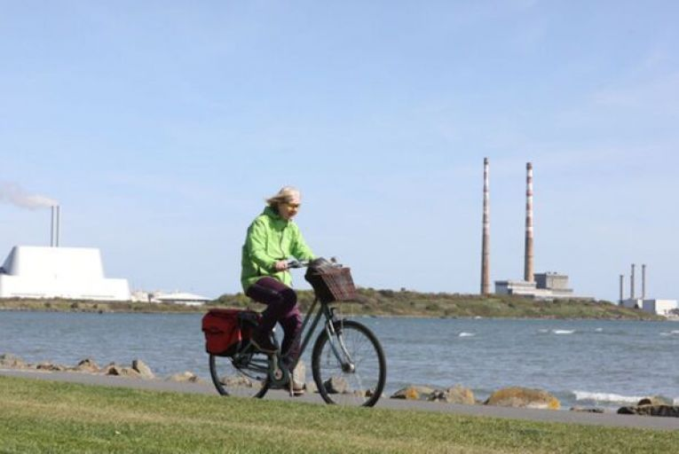 Some residents are opposed to a six-month trial of a new cycle lane at Strand Road, Sandymount, while cycling groups are in favour. Picture: Rollingnews.ie