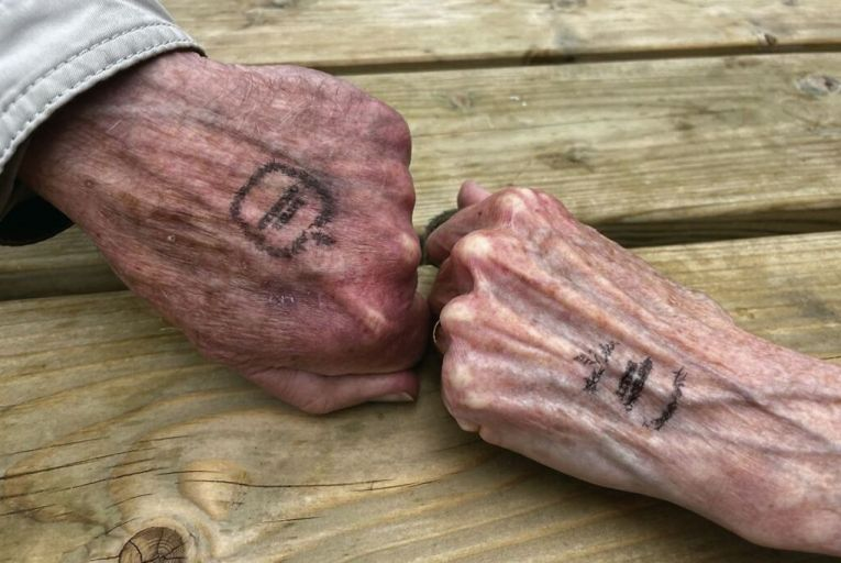 'My parents had their hands stamped going into the pub, as if they were entering a nightclub, and my mother seemed particularly pleased by what she considered a rather anarchic tattoo'